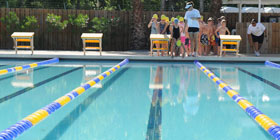 Μάθημα κολύμβησης