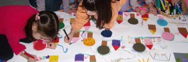 Τα παιδιά ζωγραφίζουν